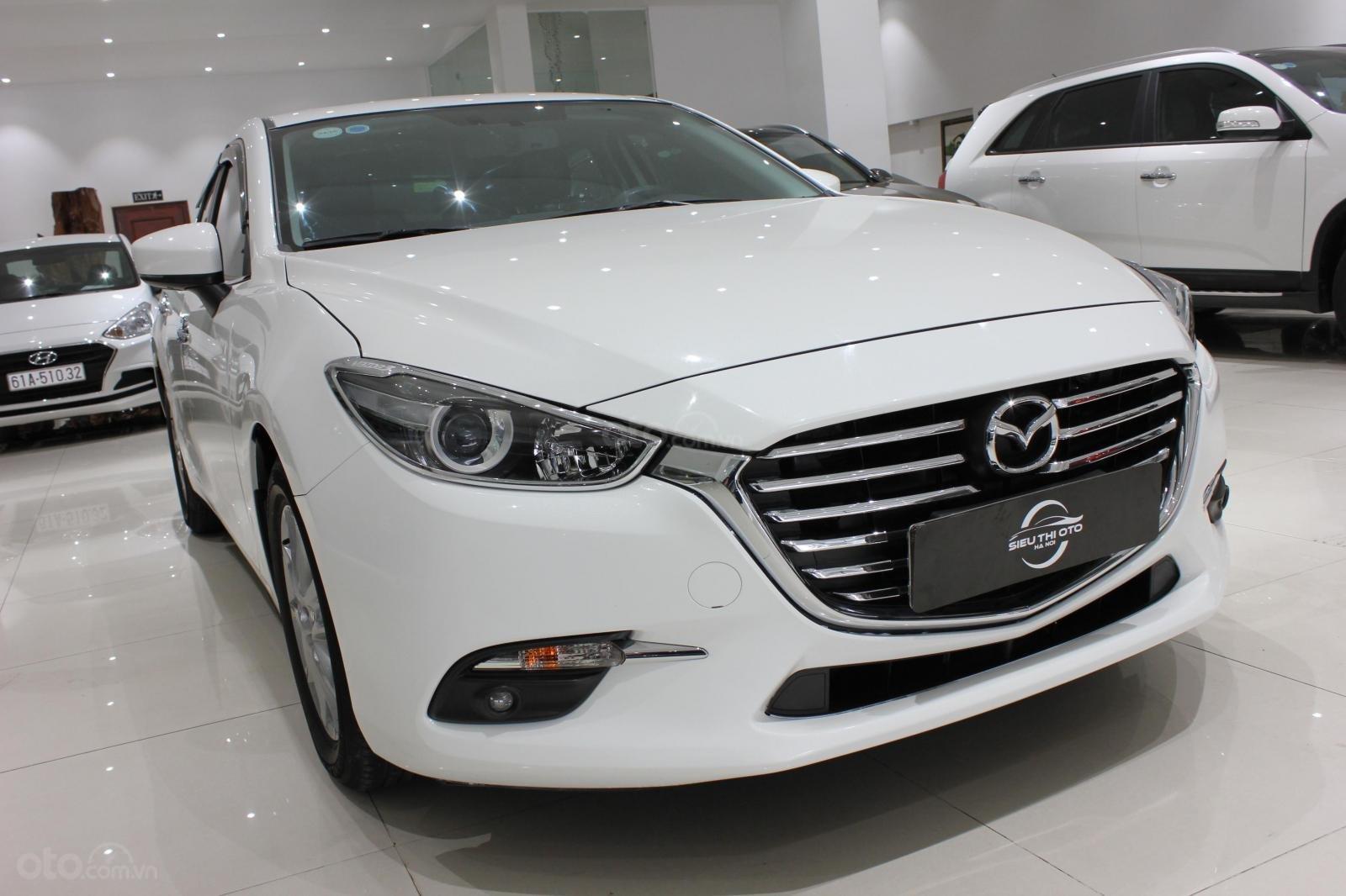 Bán Mazda 3 1.5L sản xuất năm 2017, màu trắng, giá thương lượng, 0347420233 (6)