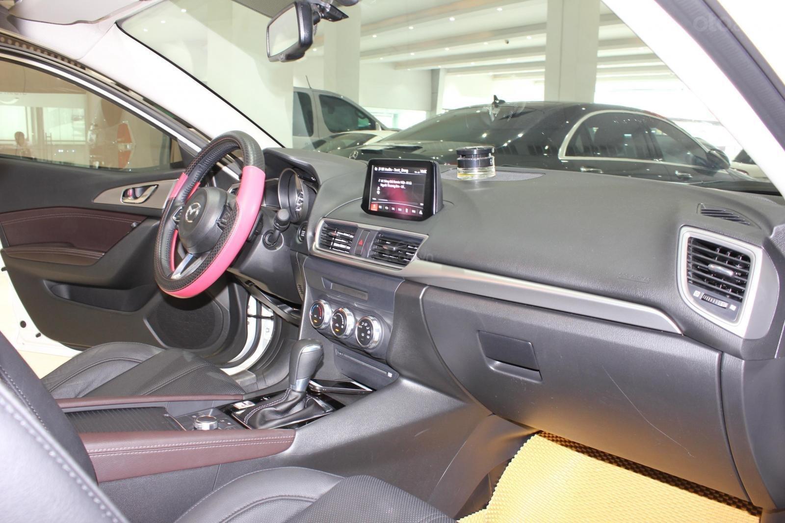 Bán Mazda 3 1.5L sản xuất năm 2017, màu trắng, giá thương lượng, 0347420233 (12)