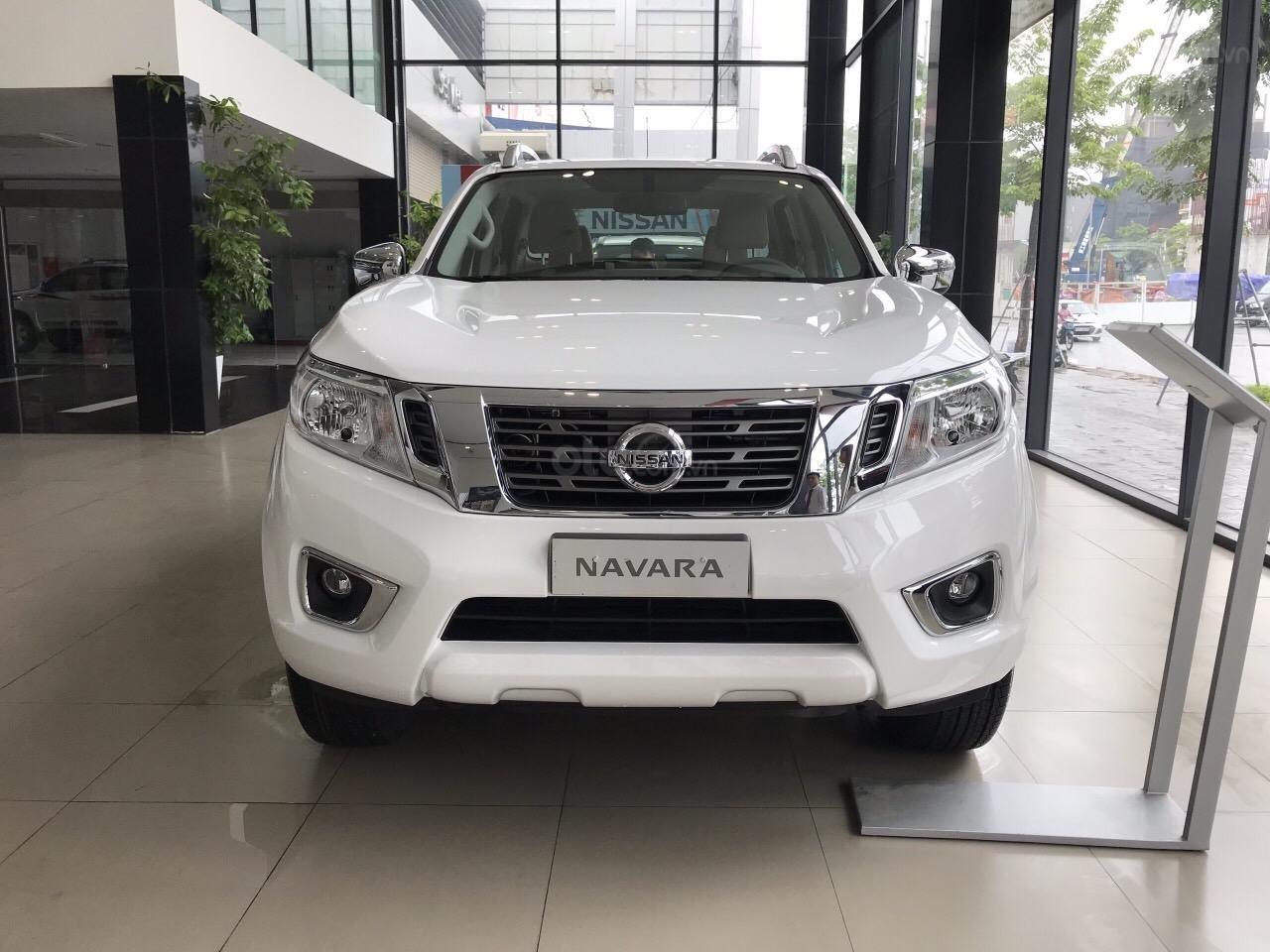 Cần bán Nissan Navara EL All New năm 2019, màu trắng, nhập khẩu, giá chỉ 624 triệu (1)