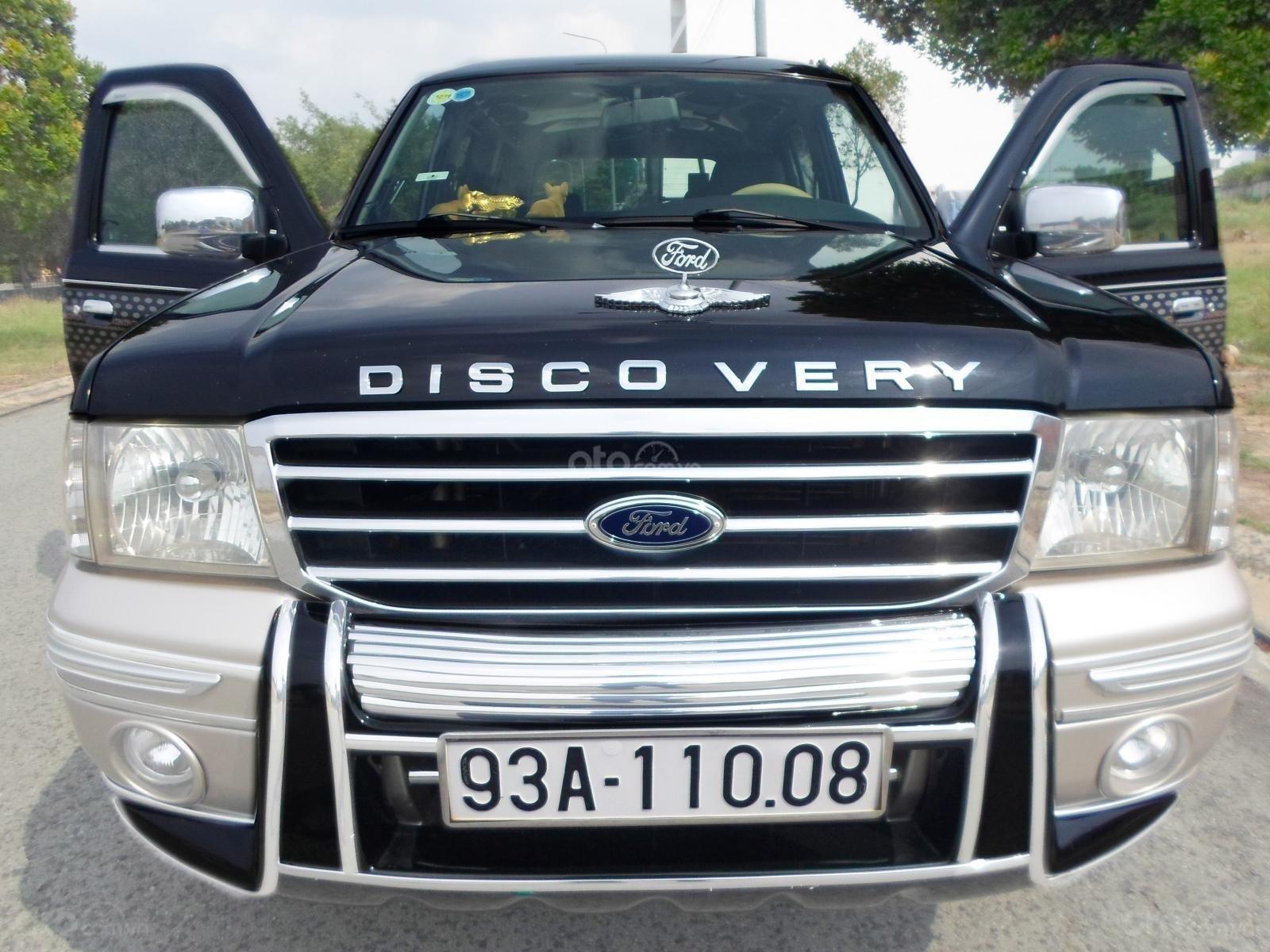 Chính chủ cần bán Ford Everest Ford Everest 2.5L 4x2 MT đời 2005, màu đen, giá tốt (1)