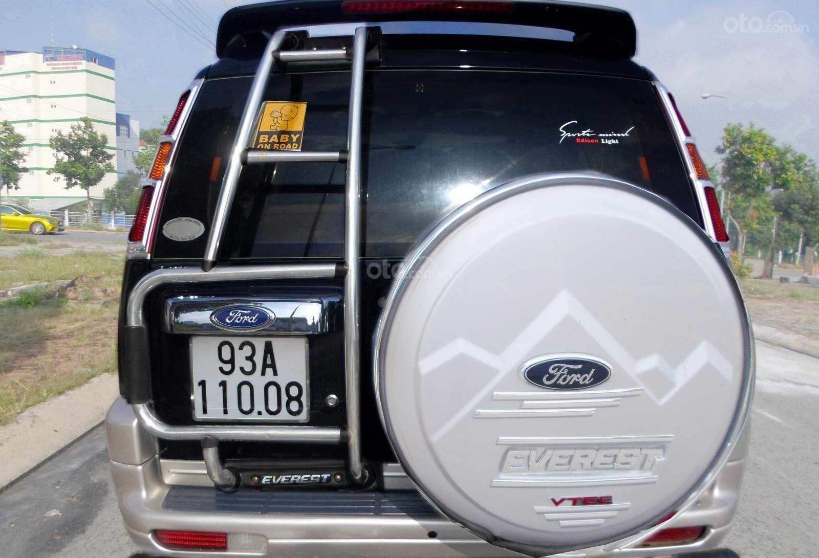 Chính chủ cần bán Ford Everest Ford Everest 2.5L 4x2 MT đời 2005, màu đen, giá tốt (3)