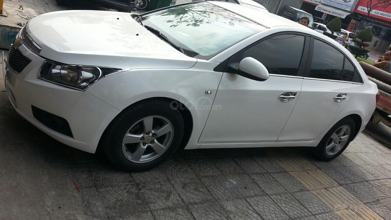 Bán Chevrolet Cruze sản xuất năm 2012 1.6L, màu trắng, có thương lượng (1)