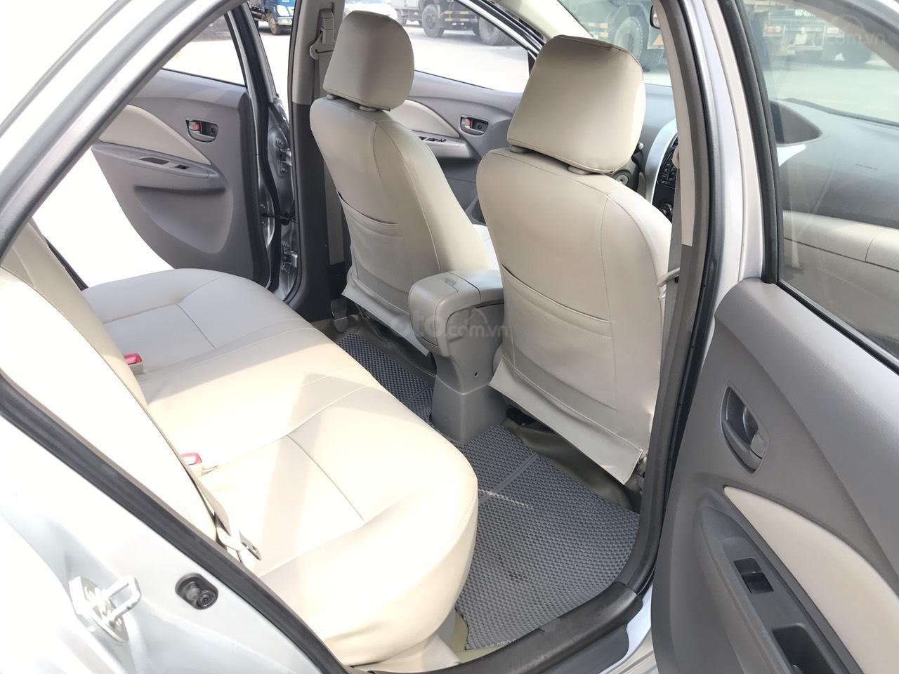 Bán xe Toyota Vios 1.5E sản xuất 2012, màu bạc, 1 chủ từ mới, máy zin 1 cục, nói không với xe taxi (21)