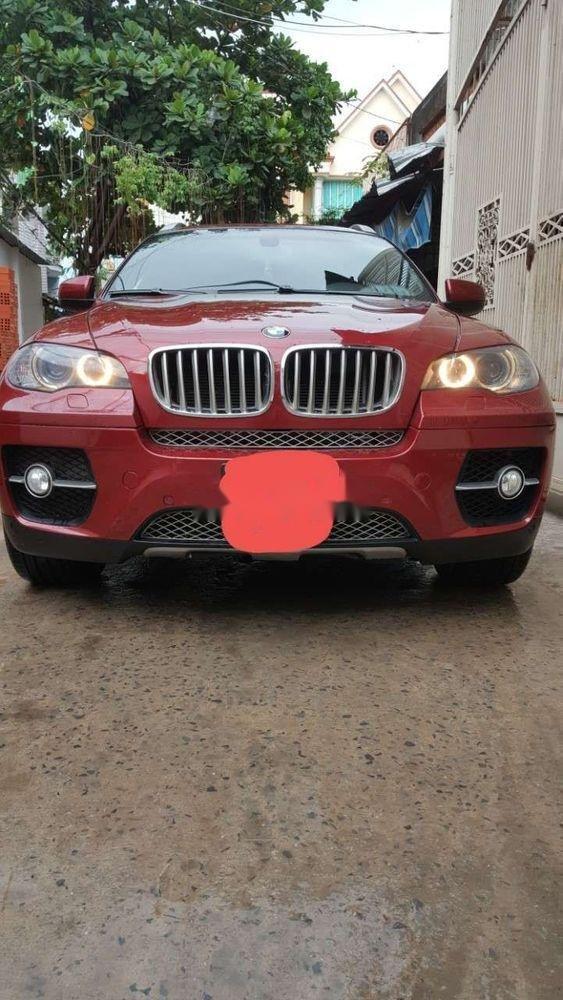 Bán BMW X6 Xdrive 3.5i 2008, màu đỏ, nhập khẩu (1)