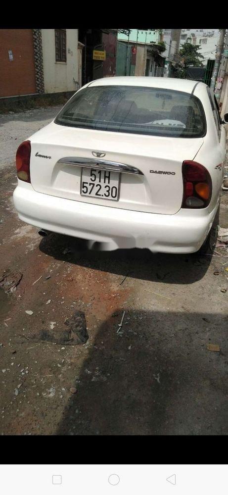 Cần bán Daewoo Lanos đời 2002, màu trắng, xe nhập (2)