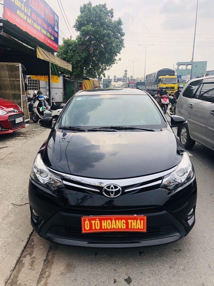 Bán Toyota Vios 1.5G 2014, màu đen chính chủ, giá tốt (1)