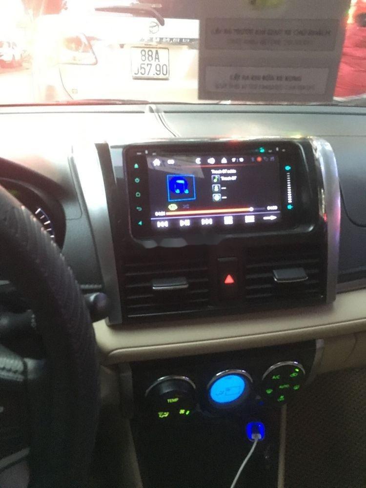 Bán Toyota Vios G đời 2017, màu bạc số tự động (2)
