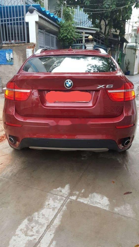 Bán BMW X6 Xdrive 3.5i 2008, màu đỏ, nhập khẩu (3)