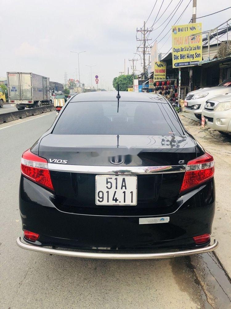 Bán Toyota Vios 1.5G 2014, màu đen chính chủ, giá tốt (3)