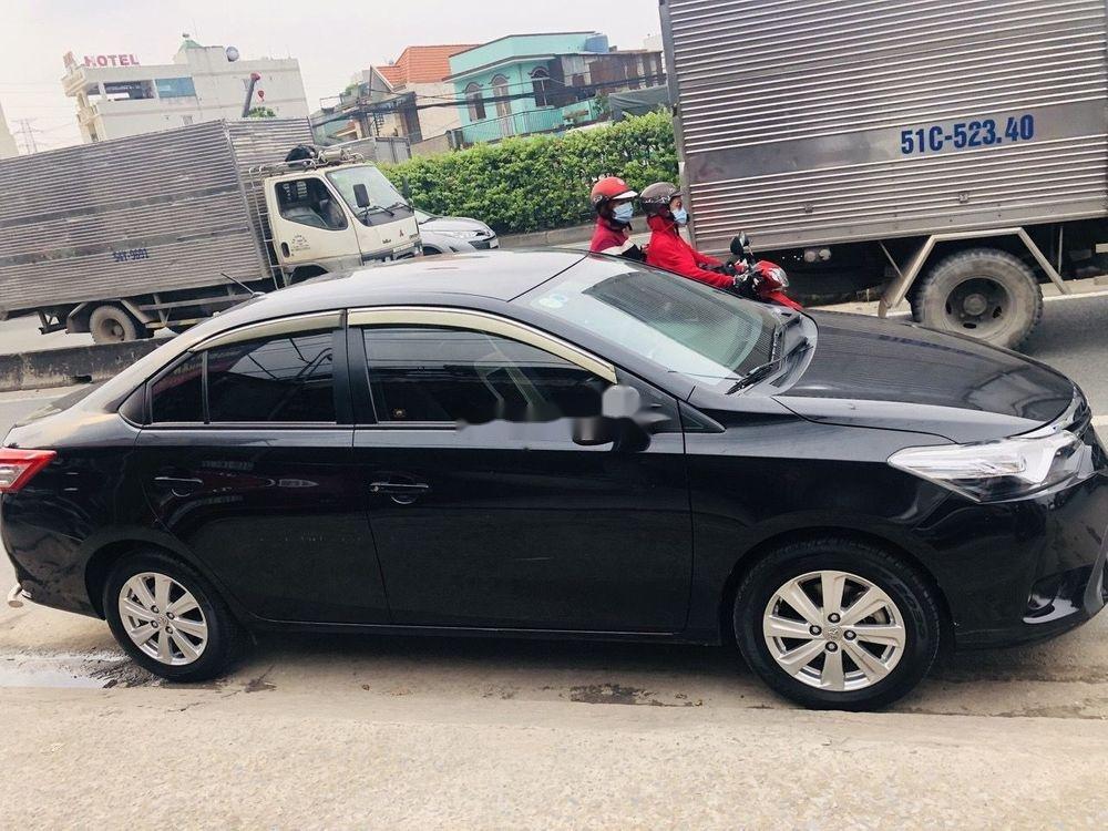 Bán Toyota Vios 1.5G 2014, màu đen chính chủ, giá tốt (2)