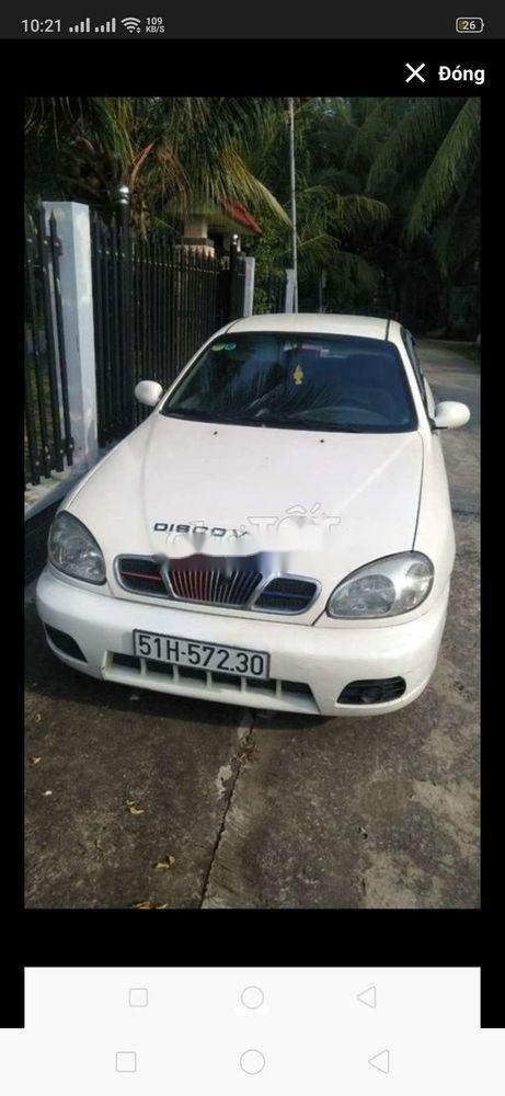 Cần bán Daewoo Lanos đời 2002, màu trắng, xe nhập (1)
