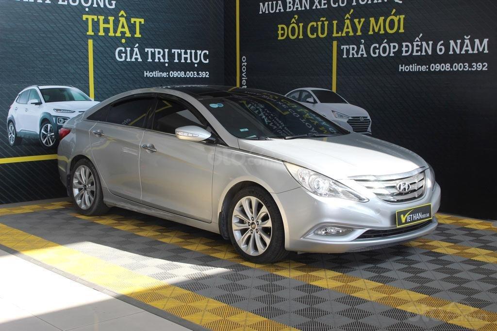 Hyundai Sonata 2.0AT 2012, xe đã kiểm định chất lượng, bao chạy và test (1)