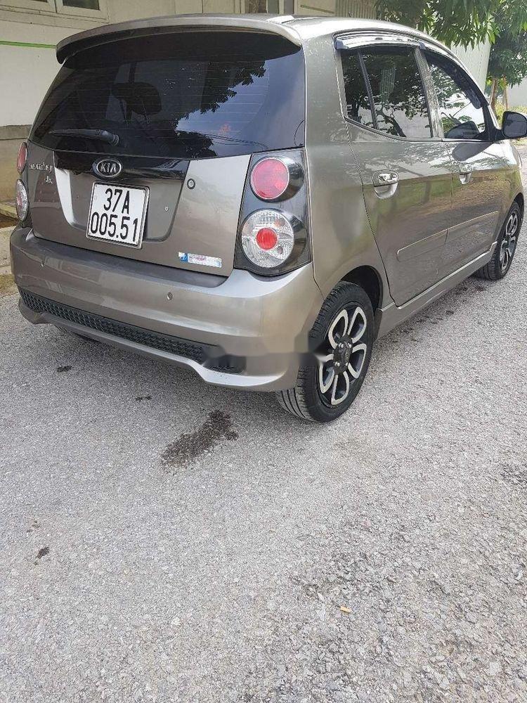 Cần bán Kia Morning đời 2010, màu xám, nhập khẩu chính hãng (3)