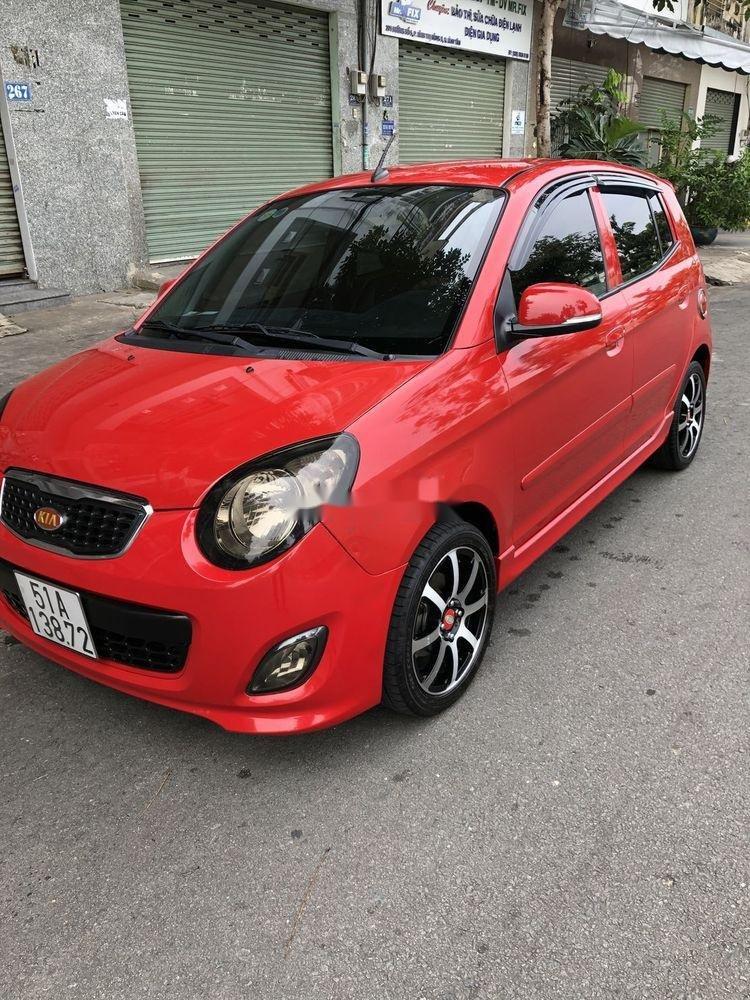 Bán xe Kia Morning 2011, màu đỏ, nhập khẩu nguyên chiếc như mới (1)