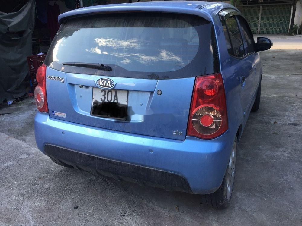 Bán Kia Morning 2008, màu xanh lam, nhập khẩu nguyên chiếc (5)