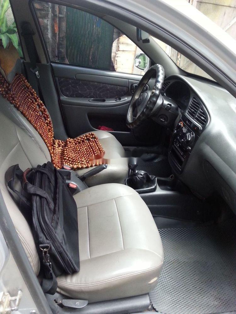 Cần bán Daewoo Lanos đời 2000, màu bạc xe nguyên bản (5)