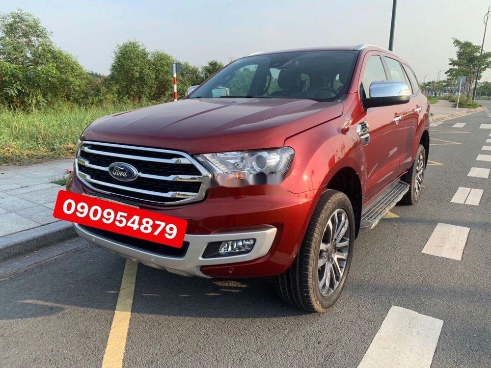 Cần bán Ford Everest sản xuất năm 2018, màu đỏ, xe nhập chính hãng (2)