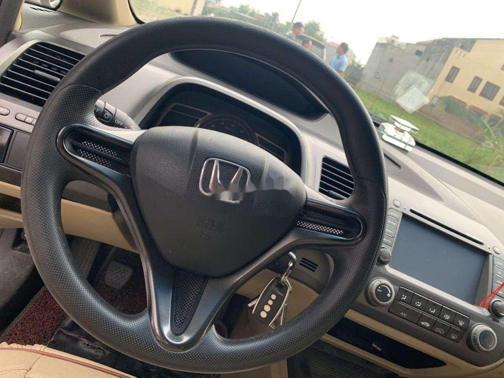 Cần bán gấp Honda Civic sản xuất 2008, màu xanh lam, giá 270.2tr xe nguyên bản (4)