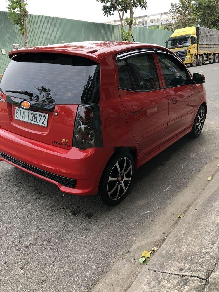 Bán xe Kia Morning 2011, màu đỏ, nhập khẩu nguyên chiếc như mới (6)