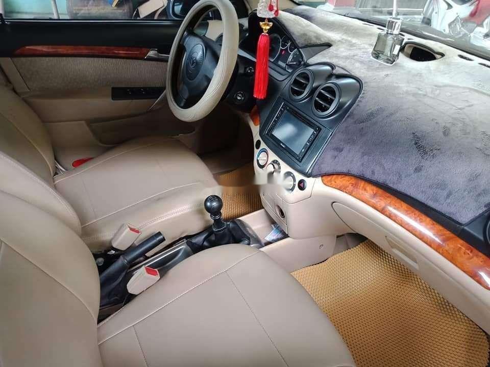 Cần bán lại xe Daewoo Gentra đời 2009, màu trắng chính chủ (12)
