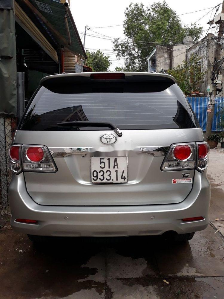 Cần bán lại xe Toyota Fortuner sản xuất năm 2014, màu bạc, giá tốt (4)