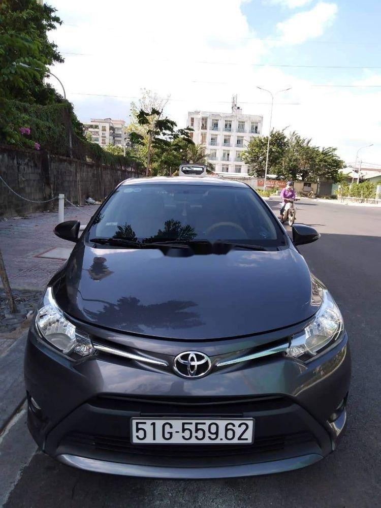 Cần bán gấp Toyota Vios năm 2018, màu xám xe còn nguyên bản (1)
