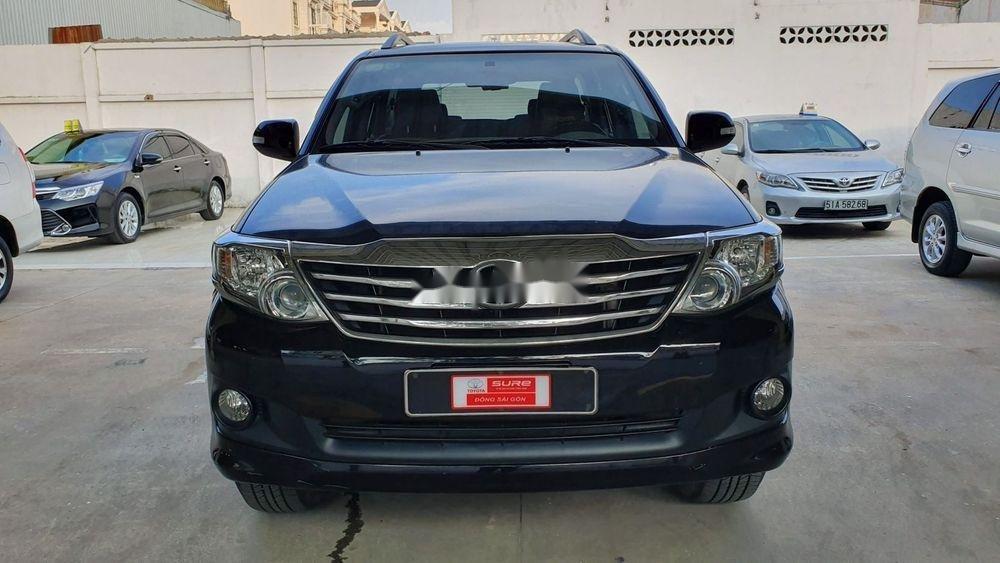 Bán xe Toyota Fortuner 2013, màu đen xe nguyên bản (2)