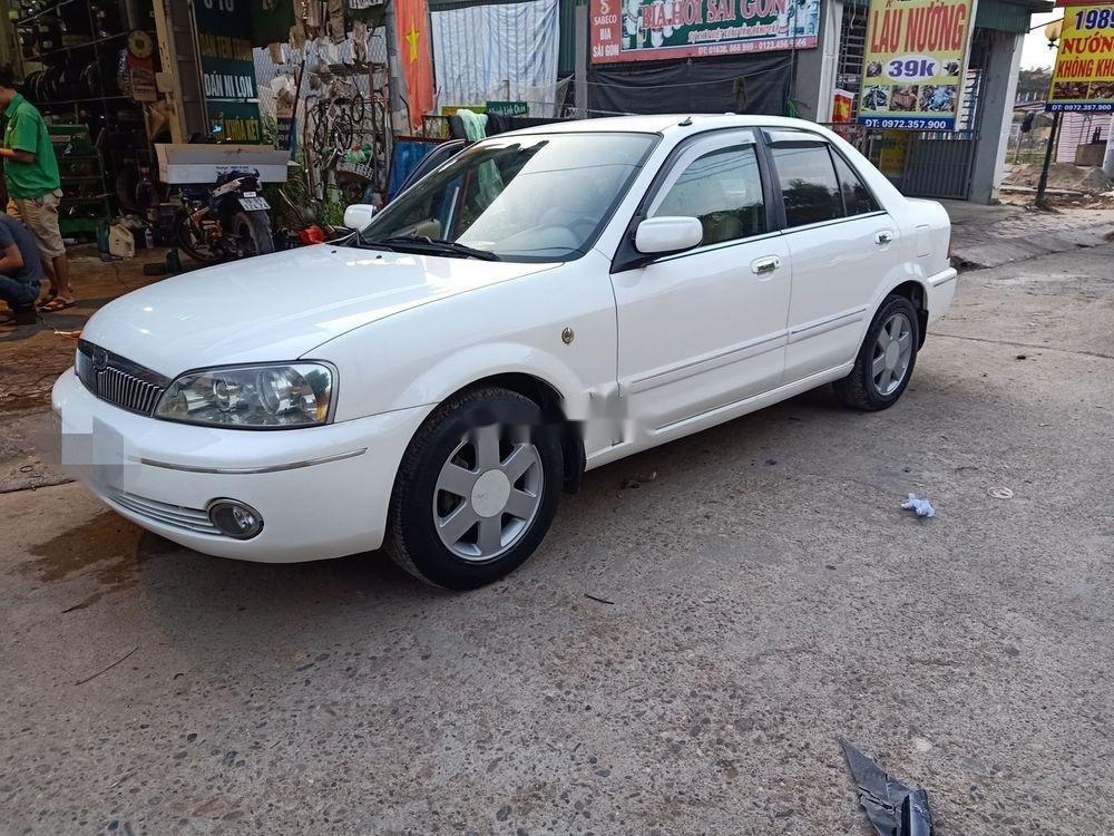 Bán Ford Laser 2003, màu trắng còn mới (1)