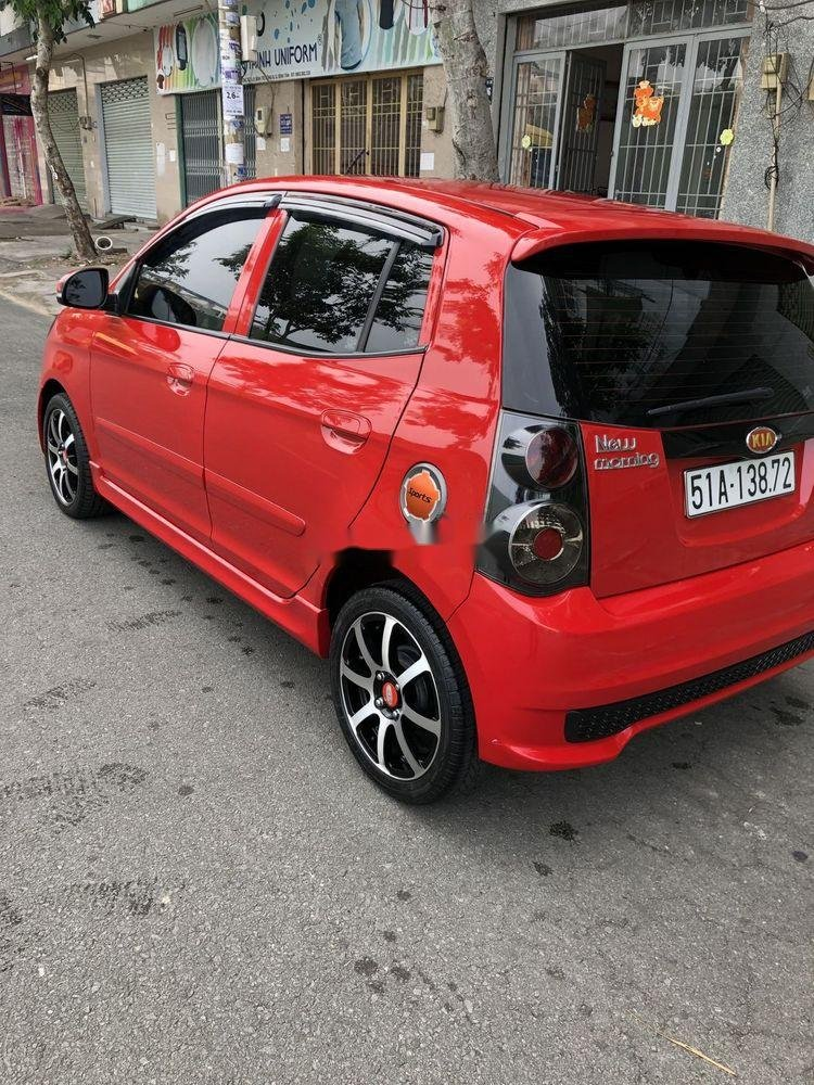 Bán xe Kia Morning 2011, màu đỏ, nhập khẩu nguyên chiếc như mới (5)