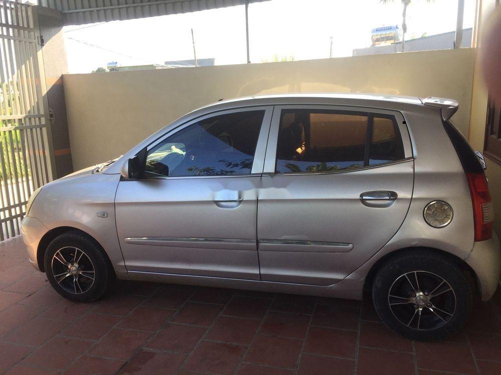 Cần bán Kia Morning MT sản xuất 2007, màu bạc, nhập khẩu nguyên chiếc  (1)