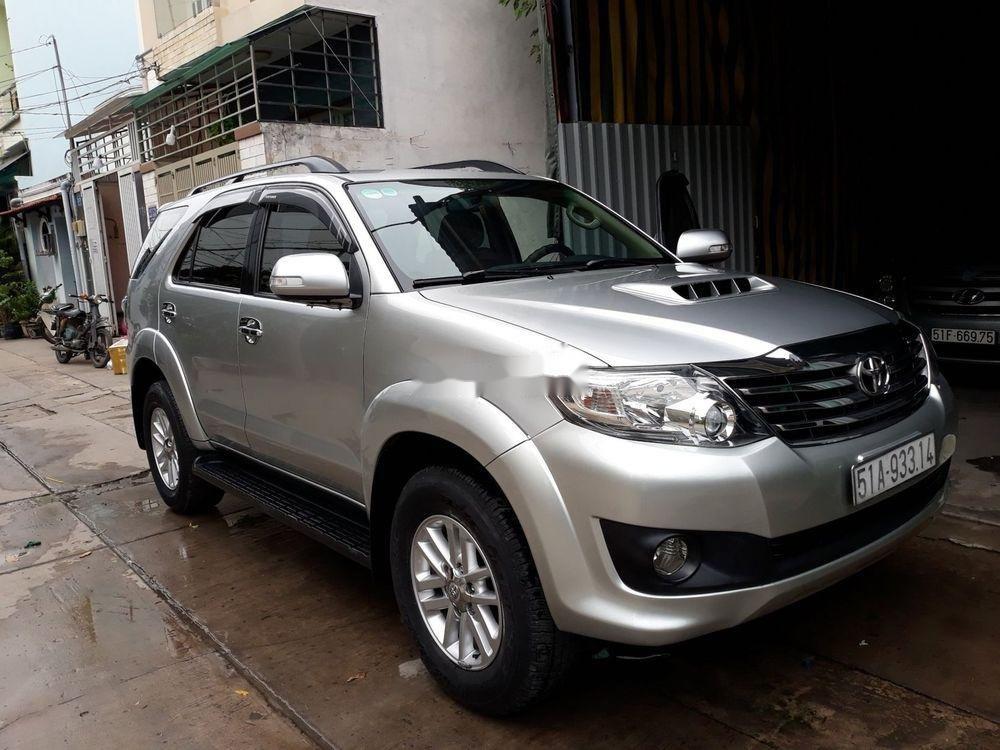 Cần bán lại xe Toyota Fortuner sản xuất năm 2014, màu bạc, giá tốt (1)