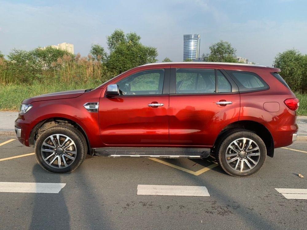 Cần bán Ford Everest sản xuất năm 2018, màu đỏ, xe nhập chính hãng (4)