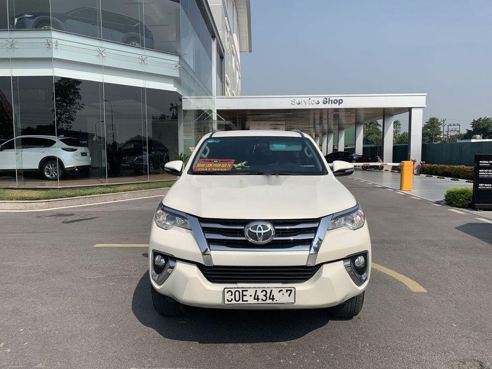 Cần bán gấp Toyota Fortuner đời 2017, màu trắng, nhập khẩu chính hãng (1)