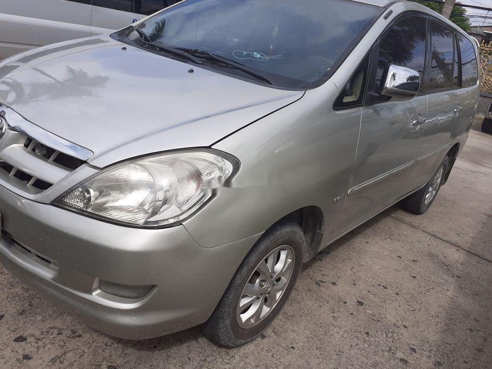 Bán ô tô Toyota Innova MT năm sản xuất 2006, màu bạc (1)