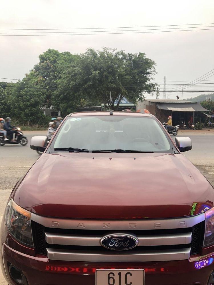 Bán Ford Ranger AT đời 2013, màu đỏ chính chủ giá cạnh tranh (1)