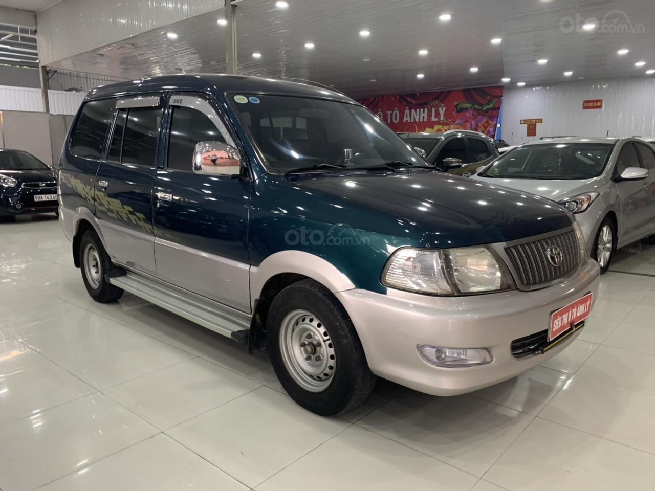 Bán ô tô Toyota Zace 1.8MT 2004, màu xanh lam, 165 triệu (4)