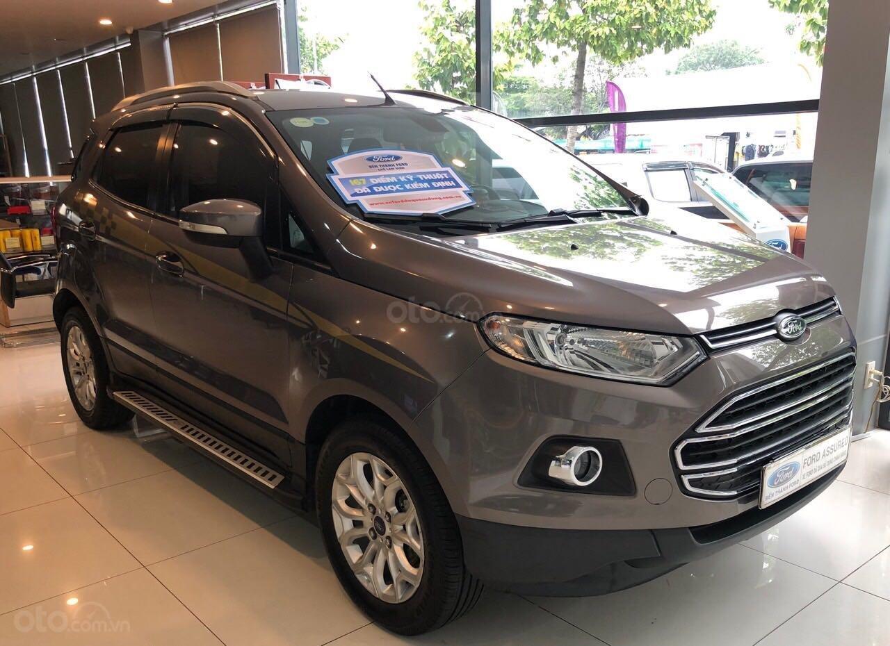 Bán xe Ford EcoSport sản xuất 2016, màu nâu, xe gia đình giá tốt 514 triệu đồng (3)