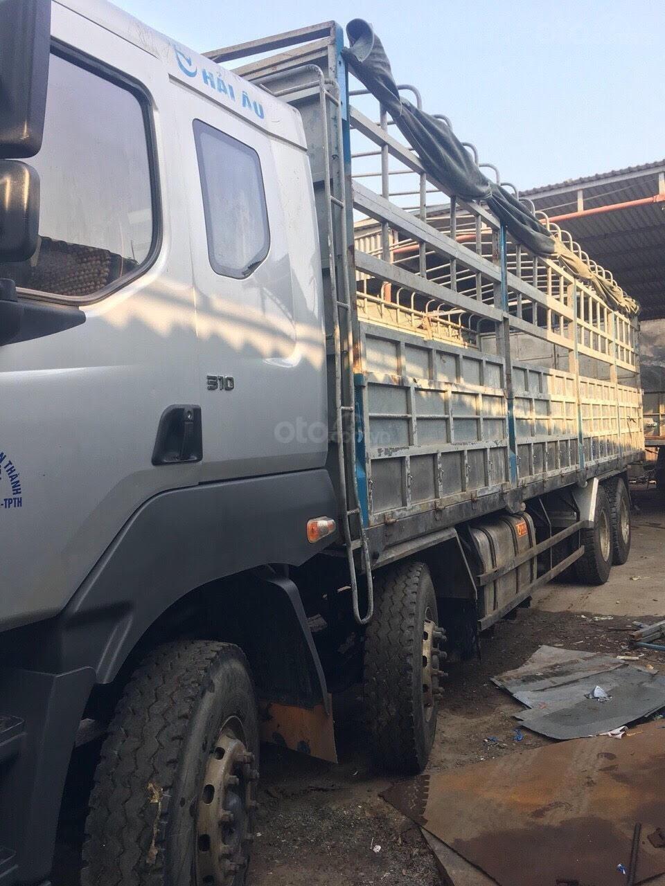 Bán xe tải Chenglong 4 chân đời 2015, tải 17.9 tấn (4)