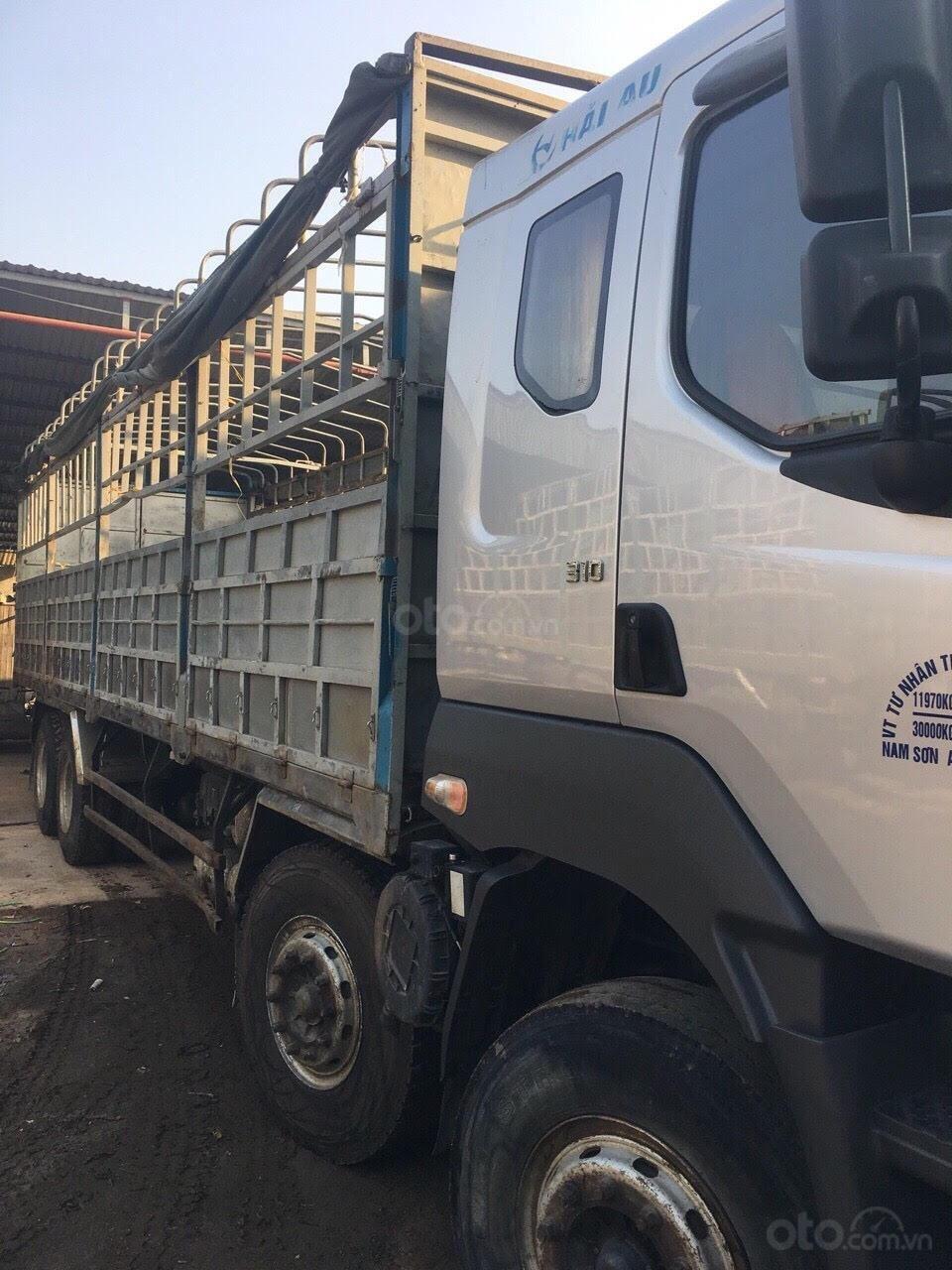 Bán xe tải Chenglong 4 chân đời 2015, tải 17.9 tấn (3)