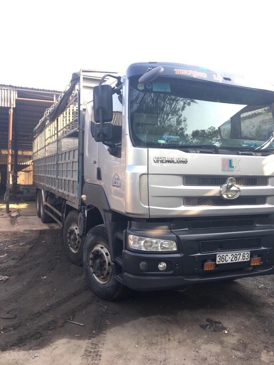 Bán xe tải Chenglong 4 chân đời 2015, tải 17.9 tấn (2)