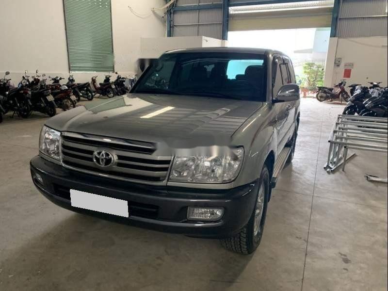 Bán Toyota Land Cruiser sản xuất năm 2006, màu xám số sàn (1)