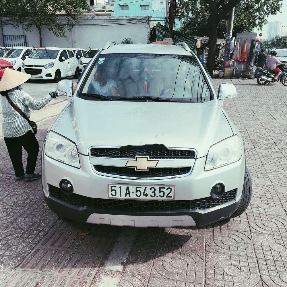 Cần bán gấp Chevrolet Captiva 2010, màu trắng (1)