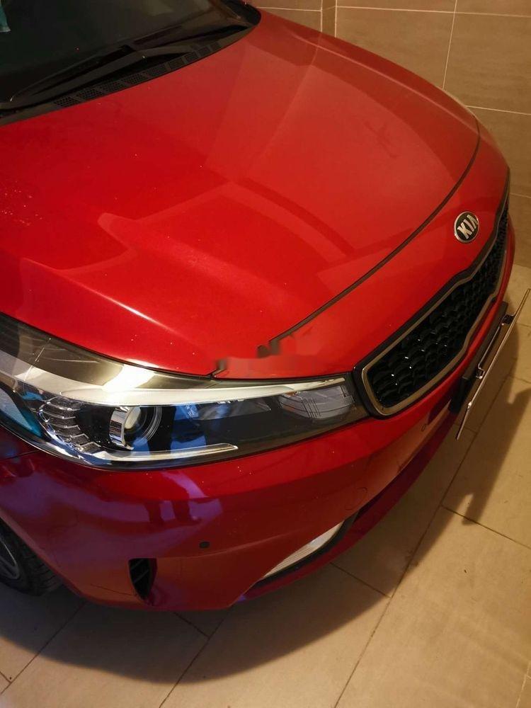 Cần bán gấp Kia Cerato đời 2018, màu đỏ xe nguyên bản (3)