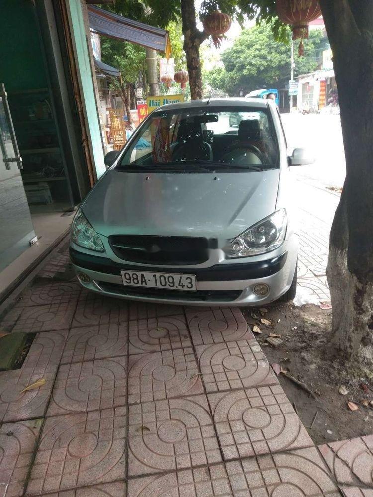 Bán ô tô Hyundai Getz đời 2009, màu bạc, xe nhập (1)