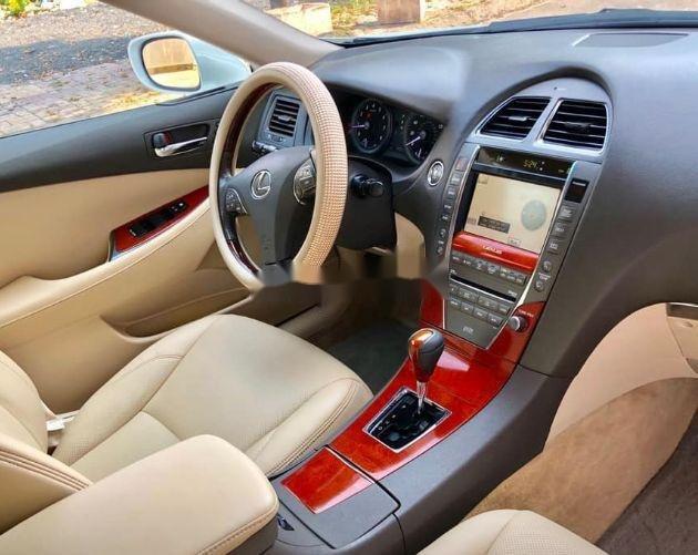Bán Lexus ES AT đời 2009, màu trắng, giá tốt (4)