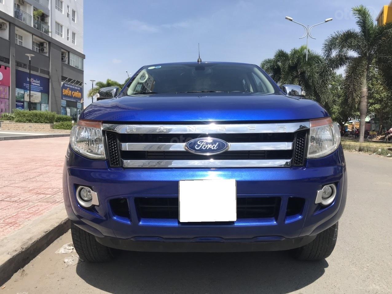 Cần bán Ford Ranger XLT MT 2.5L 2015, màu xanh lam, xe nhập, giá chỉ 485 triệu (2)