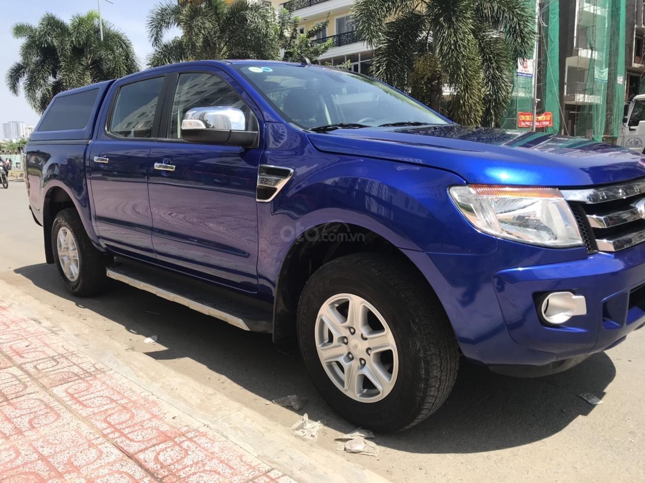 Cần bán Ford Ranger XLT MT 2.5L 2015, màu xanh lam, xe nhập, giá chỉ 485 triệu (1)