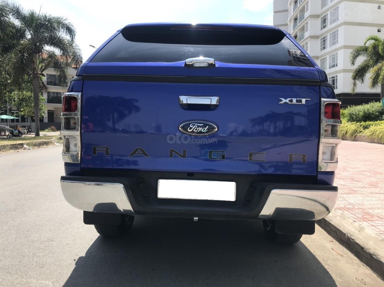 Cần bán Ford Ranger XLT MT 2.5L 2015, màu xanh lam, xe nhập, giá chỉ 485 triệu (9)