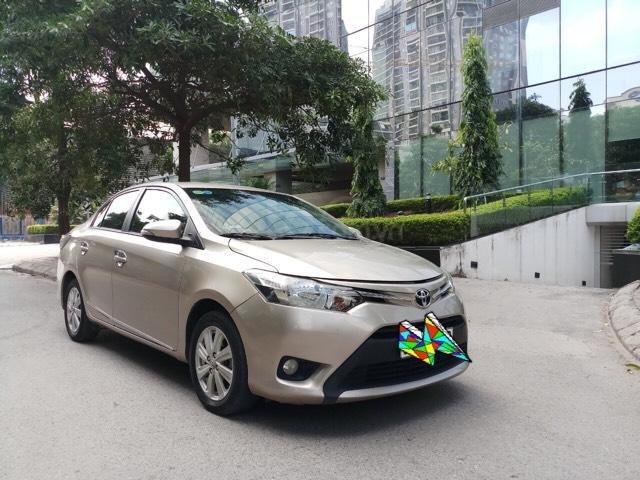 Ô Tô Thủ Đô bán xe Toyota Vios 1.5 At SX 2016, màu ghi vàng 459 triệu (1)