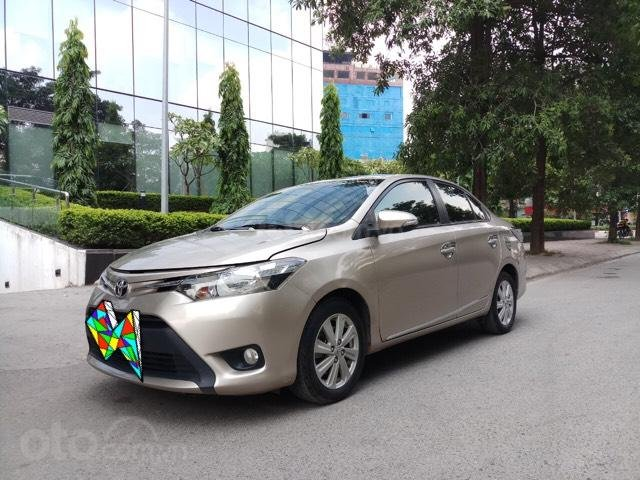 Ô Tô Thủ Đô bán xe Toyota Vios 1.5 At SX 2016, màu ghi vàng 459 triệu (2)
